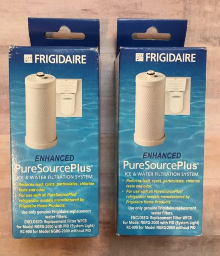NEW 2 Genuine Frigidaire Pure Source Plus WFCB Ice & Water Filtration Filter