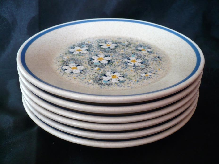 LENOX Temper-Ware Dewdrops Bread & Butter Plates 6