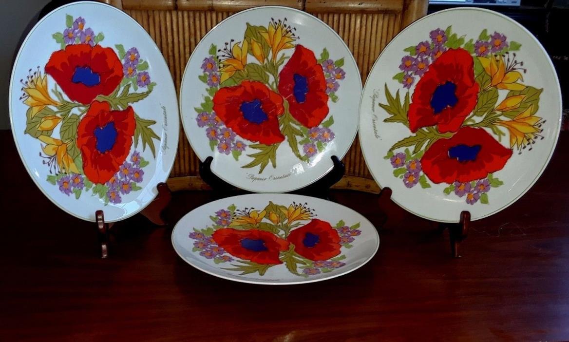 Lot Set of 4 Heinrich Germany Lemeau Tastesetter Collection Dinner 10