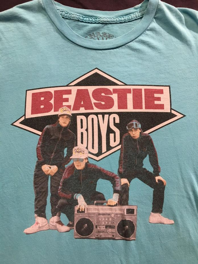 BEASTIE BOYS Boom Box Rap Hip Hop Green T-Shirt Sz. M