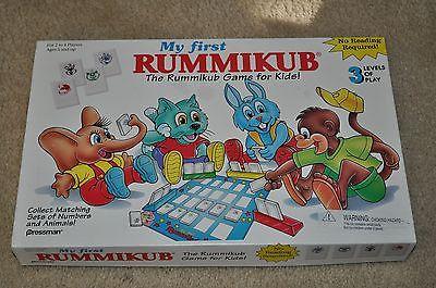 1994 Pressman My First Rummikub Game For Kids Complete