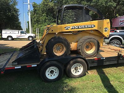 John Deere 270 Skid steer high flow skid steer