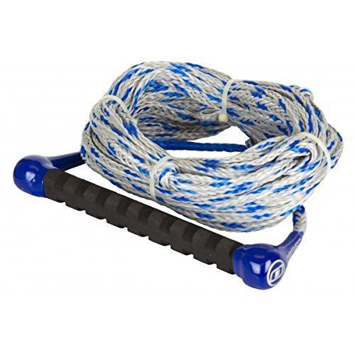 New O'Brien 1-Section Silver / Blue Waterski Rope - Part 2174530