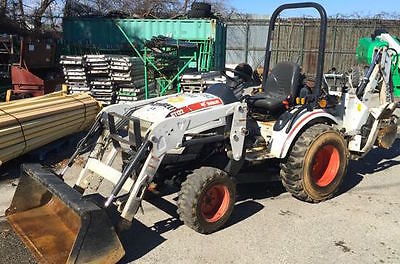 2011 Bobcat CT122 4x4 Compact Tractor Loader Backhoe. Coming in Soon!