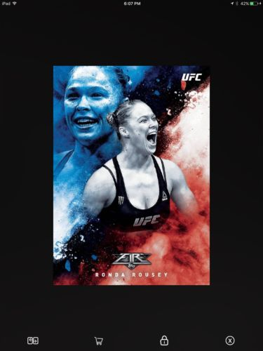 DIGITAL Topps UFC Knockout Fire Ronda Rousey