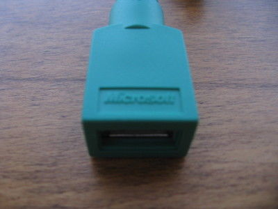 2 MICROSOFT USB TO PS/2 CONVERTERS