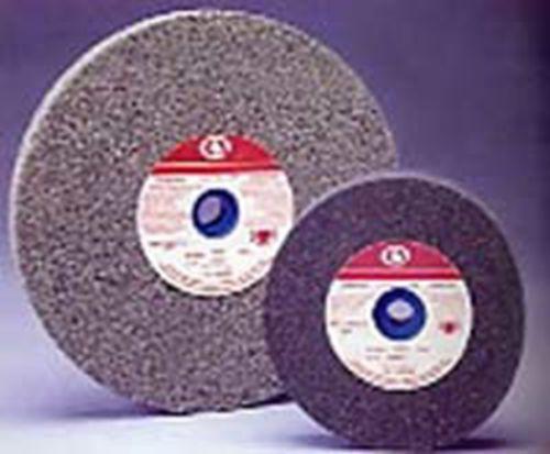 CARBORUNDUM ABRASIVES CO. 6 x 3/4 Alum Oxide Bench Grinder Wheel 60M Arbor 1/2-1