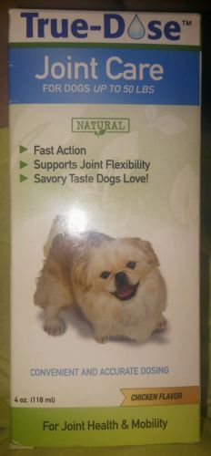TRUE DOSE JOIN CARE FOR DOGS UP TO 50 LBS 4OZ.