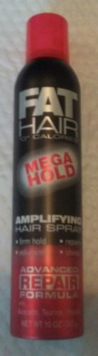 FAT HAIR MEGA HOLD AMPLIFYING HAIR SPRAY - SUPER AWESOME!
