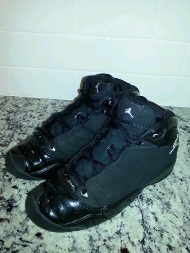 Nike Air Jordan Laney 23 Black/Metallic Silver- 314416-001 youth size 5.5Y