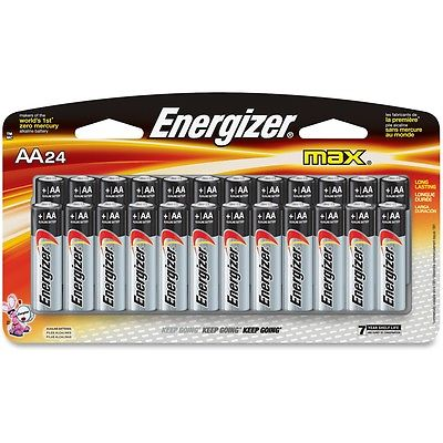 Eveready Battery Co Inc Energizer Alkaline Battery, AA, 11PK/CT, BKSR