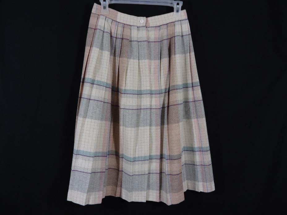 Vintage A Paquette California Pleated Skirt 70's/80's Secretary, Mod, Retro