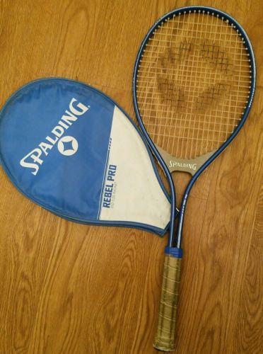 SPALDING Rebel Pro Tennis Racquet Grip 4 3/8 TENNIS RACKET Mid Size