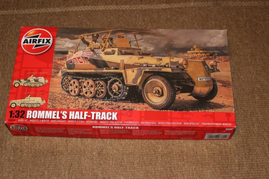 Airfix 1:32 Rommel's Half-Track