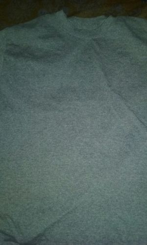 Boys Charcoal Fruit of the Loom T-shirt Size Large (10/12)