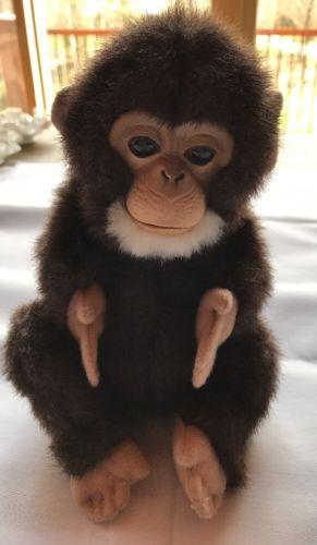 FurReal Friends Chimpanzee Interactive Chimp Newborn Baby Monkey Hasbro WORKS