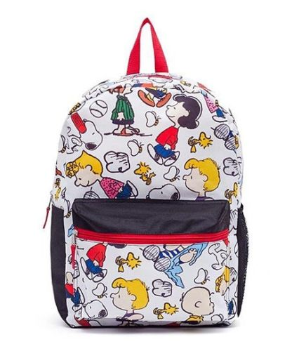 Peanuts Chuck and the Gang Backpack