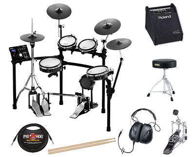 Roland TD-25KVS Electronic Drum Set Bundle