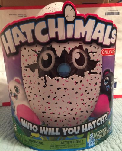 Hatchimals Pink & Black Bearakeet Interactive Egg BRAND NEW FAST SHIPPING