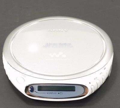 Sony D-NE509 Portable MP3 CD Discman Walkman Player Atrac TESTED!