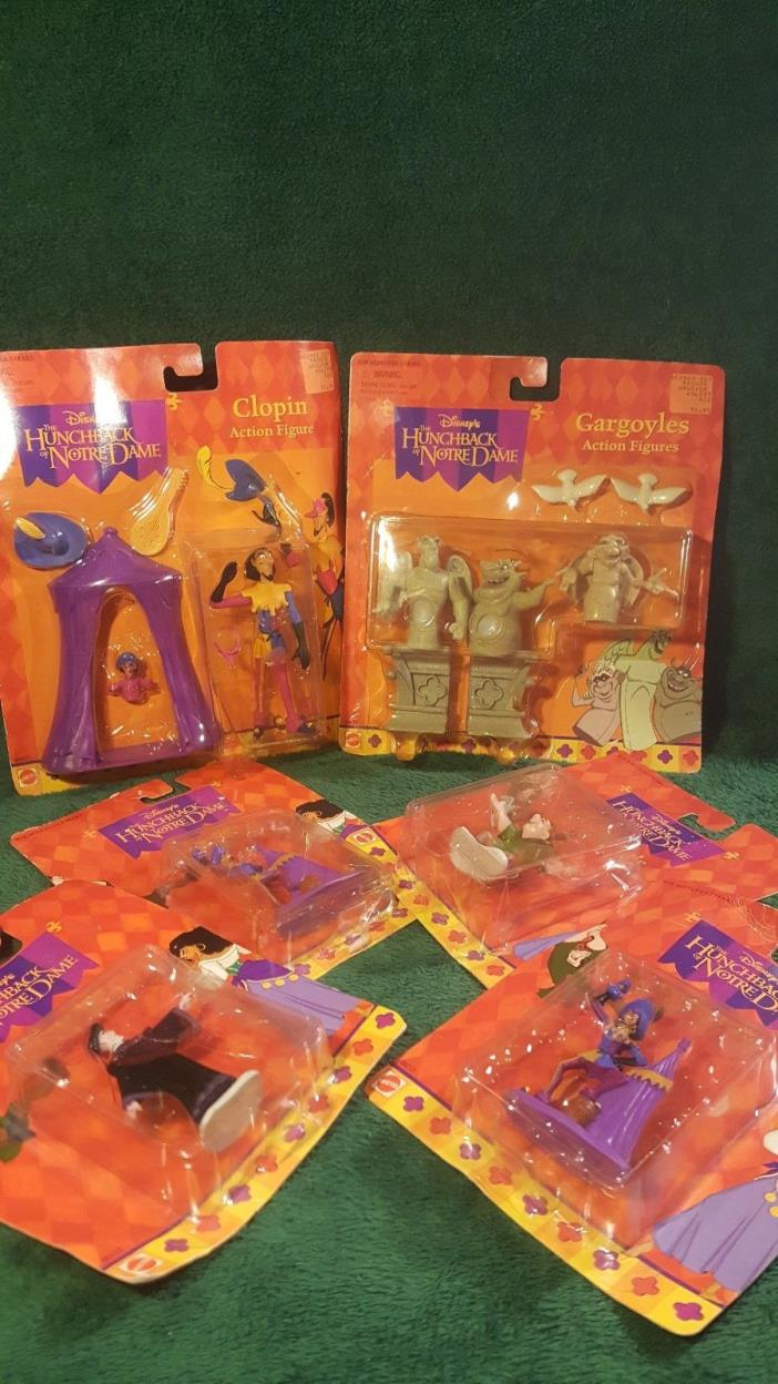 Disney Hunchback Of Notre Dame LOT OF 6 Action Figure Quasimodo