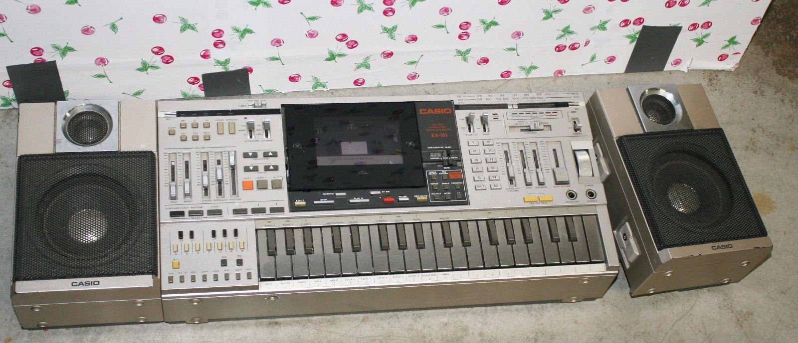 THE Vintage Casio KX-101 ( BROKEN )