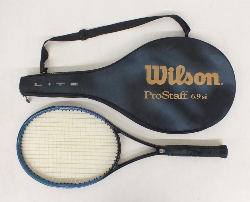 Wilson Pro Staff 6.9si Lite Tennis Racquet w/4 1/4
