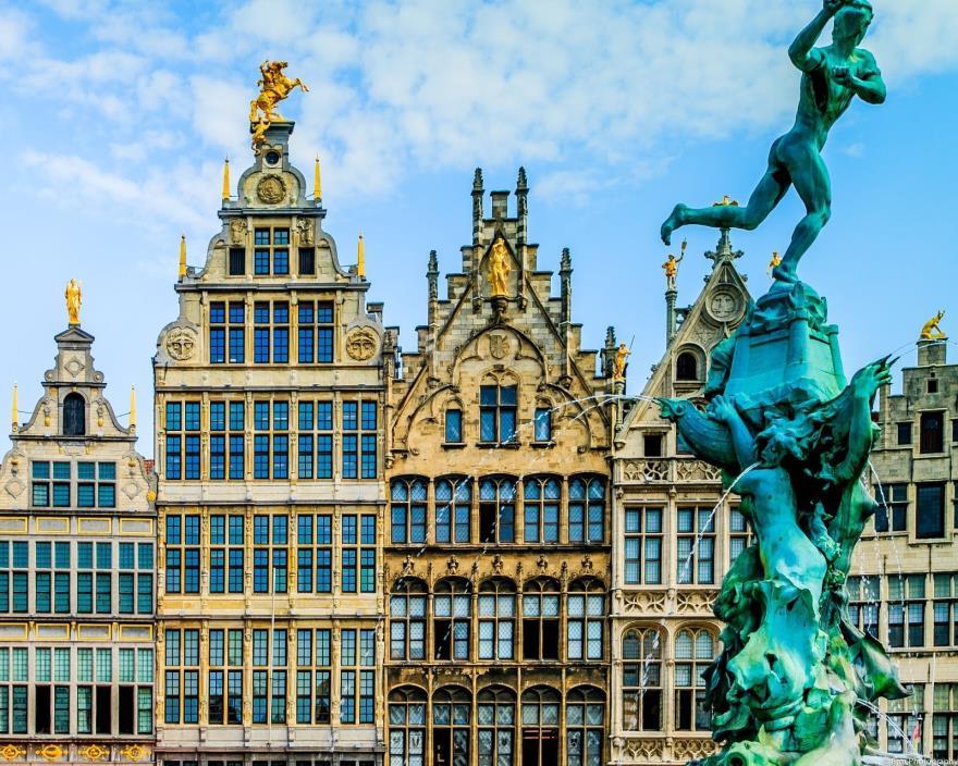 Antwerp Belgium 8x10 photograph