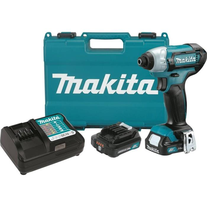 MAKITA-DT03R1 12V Max CXT™ Lithium-Ion Cordless Impact Driver Kit