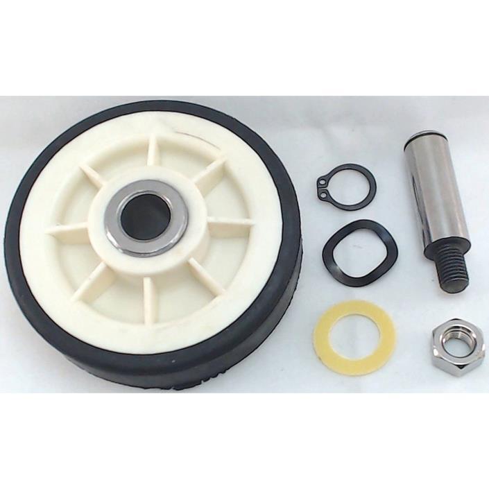 Clothes Dryer Drum Roller Shaft Repair Maytag Kenmore Whirlpool 303373/12001541