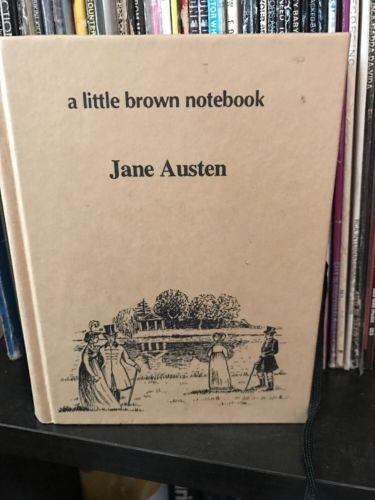 A Little Brown Notebook Jane Austen Notepad Journal