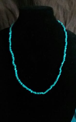weaver Selina sterling turquoise necklace