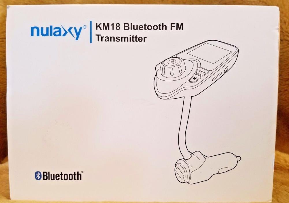 nulaxy KM18 Bluetooth FM Transmiter Free Shipping