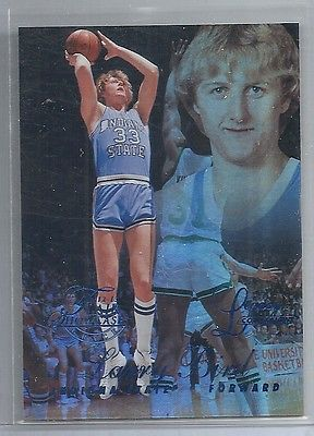2012-13 Fleer Retro - LARRY BIRD - Flair Showcase Legacy #d 60/150 - CELTICS ISU