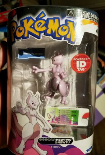 Pokemon Tomy 3in figure Mewtwo Mint in box