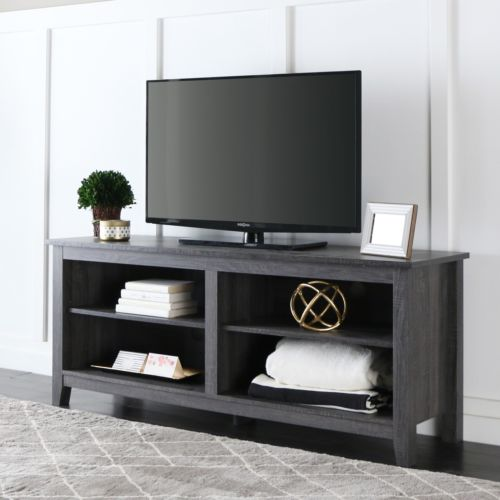 58 Inch Charcoal Grey TV Stand