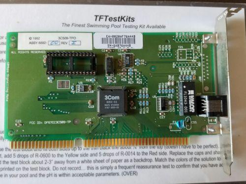 3Com 1992 3C509-TPO 8892-00 REV I Network Card