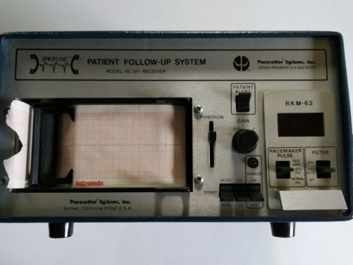 VINTAGE PACESETTER PACELINE PATIENT FOLLOW UP SYSTEM MEDICAL MONITORING