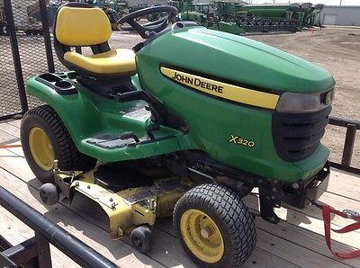 2011 John Deere X320 Garden Tractors