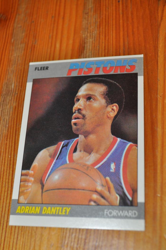 1987-88 Fleer Basketball HOF Adrian Dantley card #24 NM-MT cond. / Free Shipping