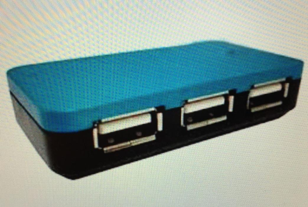 USB 2.0 4 Port Hub, high speed,  UH-BSC4-US New in original packaging