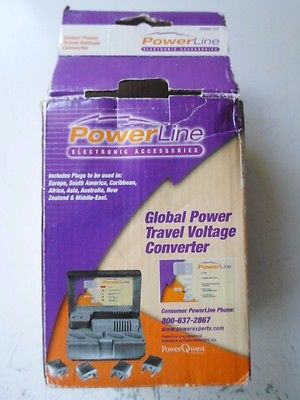 Powerline By Power Qwest 0900-27 Global Power Travel Kit - NEW
