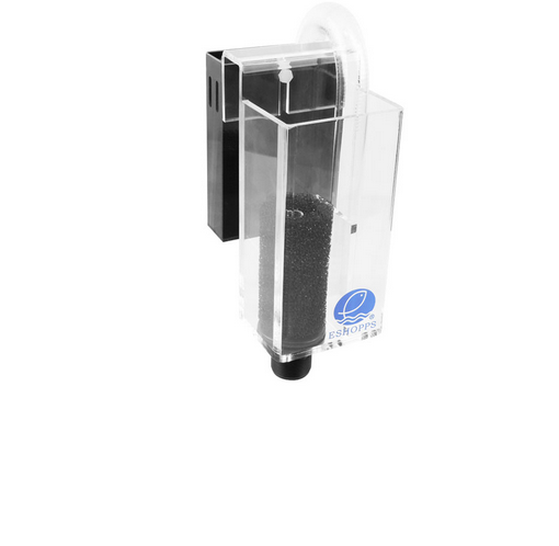 Eshopps PF Series Overflow Box high quality overflow boxes features bulkhead fit