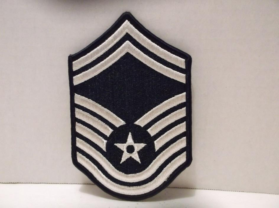Senior Master Sergeant E-8 USAF US Air Force Patch