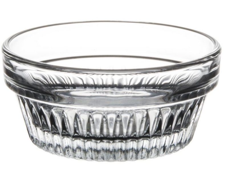 Libbey Glass 15446 Winchester 3 oz Clear Glass Ramekin (Duratuff) Case of 36