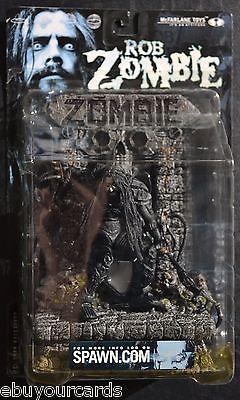 McFarlane Toys Spawn Rob Zombie Super Stage Figure Custom Diorama Stones Skulls