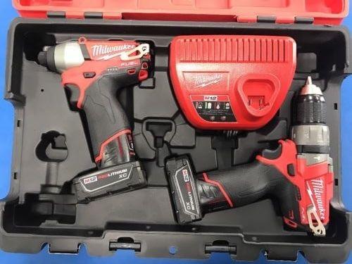 Milwaukee M12 Brushless Set Hammer Drill