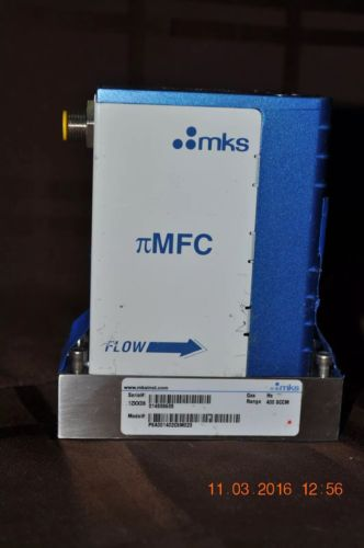 MKS Mass Flow Controller MFC He 400SCCM P8A001402C6M023