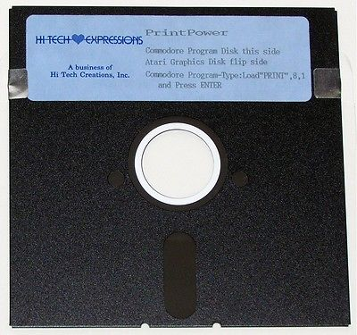 Hi Tech Expressions PrintPower for the Commodore 64/128 5¼