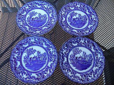 Togo Flow Blue (4) Dinner Plates